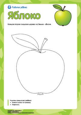 Раскраска «Яблоко»