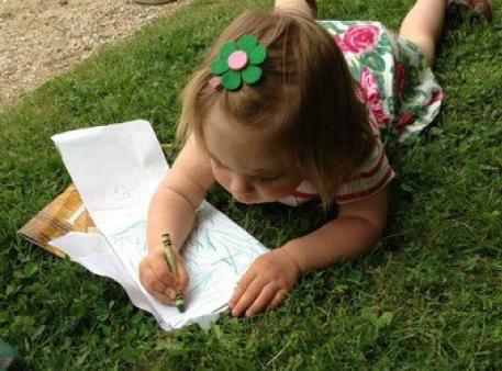 Развитие предварительных навыков письма у малышей