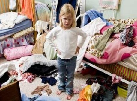 Как заставить детей убрать в своей комнате