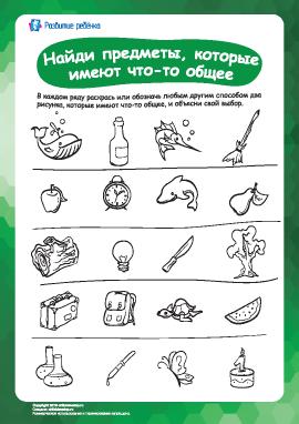 Найди похожие предметы №6