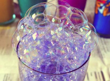 Игра «Рисование мыльными пузырями»