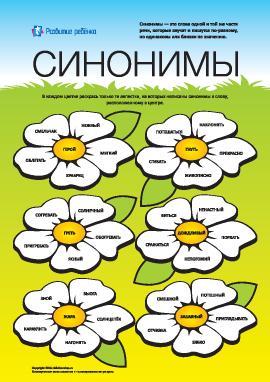 Изучаем синонимы: №2 (русский язык)