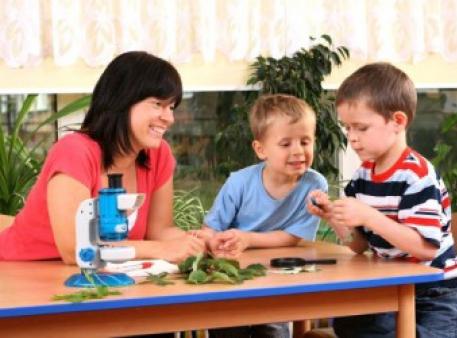 Как научить малышей азам научного познания