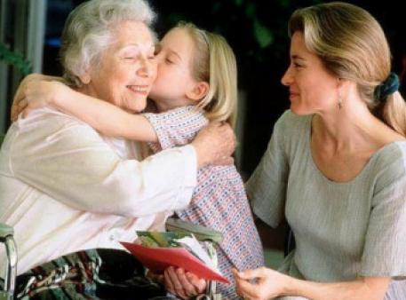 Влияние на детей ухода за больным родственником