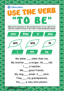 """Учимся использовать глагол """"to be"""" в настоящем времени"""