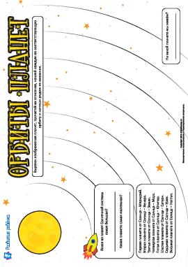 Изучаем порядок планет Солнечной системы