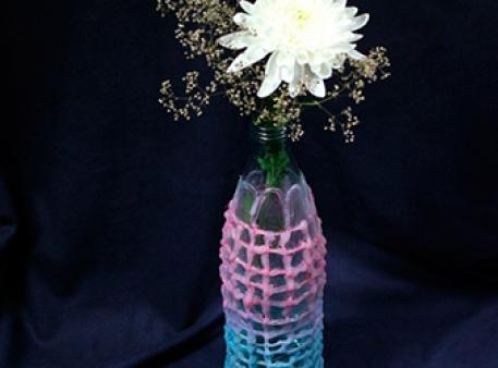 Ваза из бутылки: проект для средних школьников