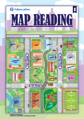 Ориентируемся по карте (английский язык)