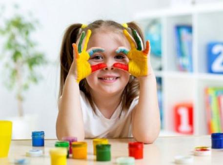 Обучаем детей распознавать цвета
