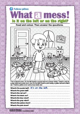 Ищем игрушки (английский язык)