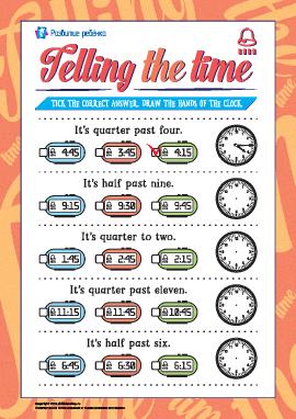 Учимся определять время (английский язык)