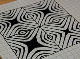 Эффектная 3D-графика: Зентангл (Zentangle)