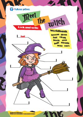 Описываем ведьмочку (на английском языке)