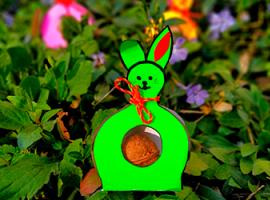 Праздничная упаковка с кроликами