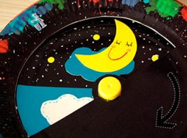 День и ночь - интерактивная аппликация