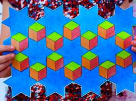Геометрия, черчение и искусство - 3-в-1