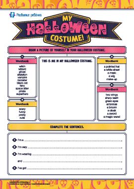 Придумываем костюм на Хеллоуин (английский язык)