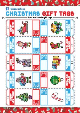 Подписываем новогодние и рождественские подарки (английский язык)