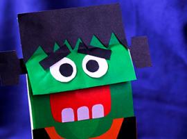 Переносим персонажа на бумажный пакетик